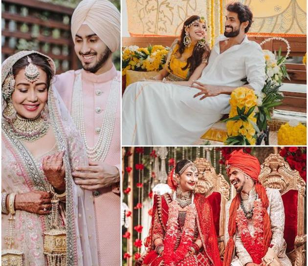 Amid the pandemic, love found its way to the heart of these duos, who got hitched in 2020(Photos: Instagram)