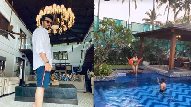 Arjun Kapoor, Malaika Arora have shared multiple glimpses of Amrita Arora's Goa house.