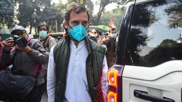Congress leader Rahul Gandhi .(Amal KS/HT PHOTO)