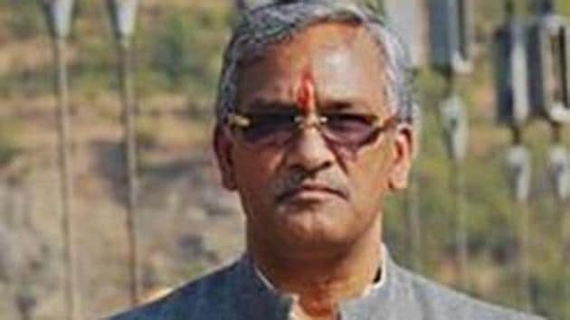 Uttarakhand CM Trivendra Singh Rawat tested positive for coronavirus on December 18(PTI)