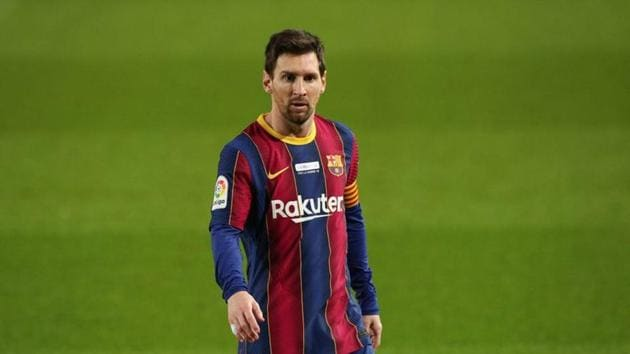 Barcelona's Lionel Messi(REUTERS)