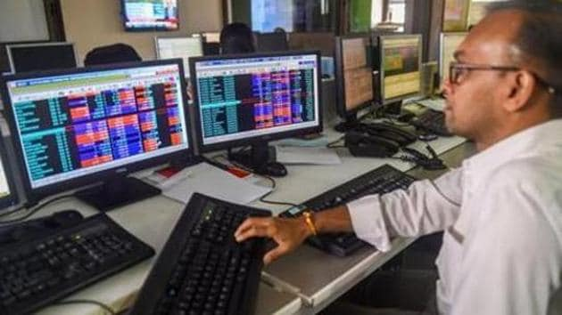 The BSE Sensex, India's benchmark stock market index, suffered its biggest ever inter-day fall of 13.15% on March 23, a day before Prime Minister Narendra Modi announced a nationwide lockdown.(PTI)
