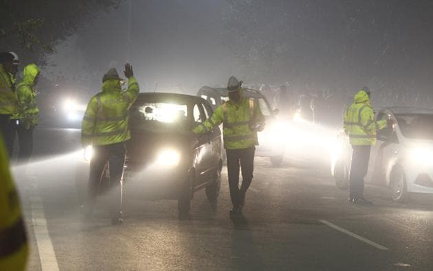 Lile New Year's Eve, night curfew shall be implemented on January 1, 2021 as well.(Photo: Yogendra Kumar/HT (Photo for representational purposes only))