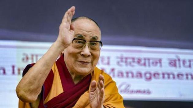 Tibetan Spiritual leader the Dalai Lama.(PTI)