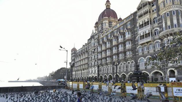 Taj Mahal Palace Hotel in Mumbai.(Hindustan Times)