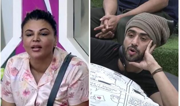 Rakhi Sawant and Aly Goni got into a fight on Bigg Boss 14.