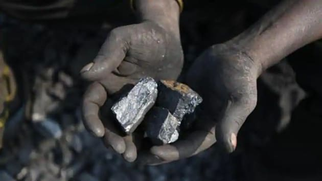 The centre has issued a notification on its intention to acquire forest land for mining coal in Madanpur South coal block in Korba district of Chhattisgarh.(HT Photo)