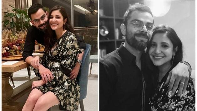 Virat Kohli and Anushka Sharma rang in the New Year with an intimate dinner.