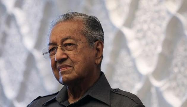 Malaysia's former Prime Minister Mahathir Mohamad had at one stage estimated the project would cost around 110 billion ringgit for Malaysia(REUTERS)