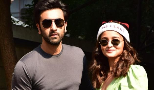 Ranbir Kapoor and Alia Bhatt are in Ranthambore with their families.(Varinder Chawla)
