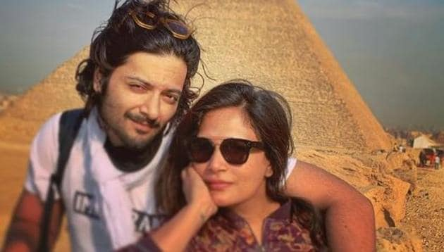 Ali Fazal and Richa Chadha met during the making of Fukrey.