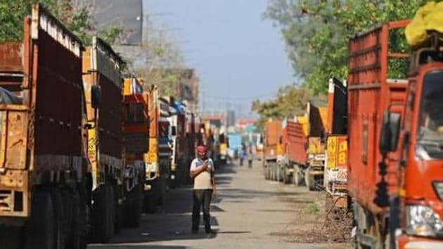 Farmers have been agitating against the new agricultural laws for more than a month on the Delhi border, due to which roads connecting the national capital to many states are closed.(Bloomberg Photo)
