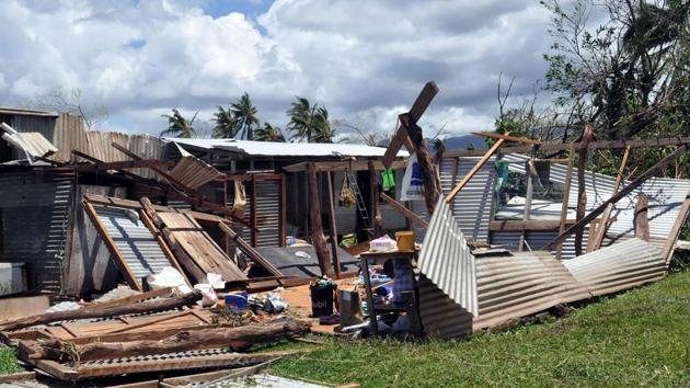 Fiji was hit by a Category 5 Tropical Cyclone Yasa on December 17-18, 2020, which caused extensive damage and destruction of critical infrastructure.(AFP)