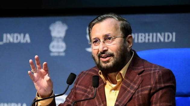 Union minister Prakash Javadekar said India is perhaps the only country where several vaccine candidates are at an advanced stage.(ANI)
