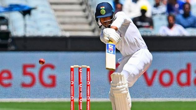 Mayank Agarwal nicks to the keeper.(Getty Images)