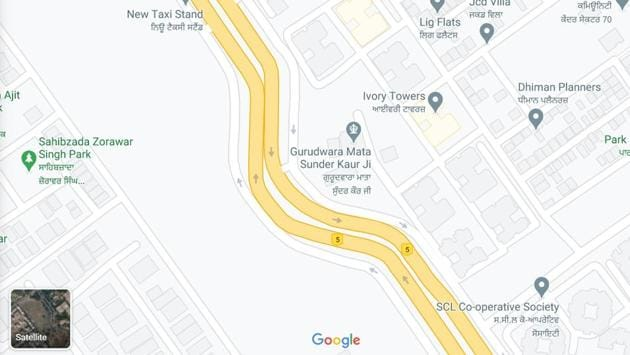 Airport Road saw around 200 fatal accidents in 2019-20, with 17 of them at this S-curve alone, which has been tagged as a black spot.