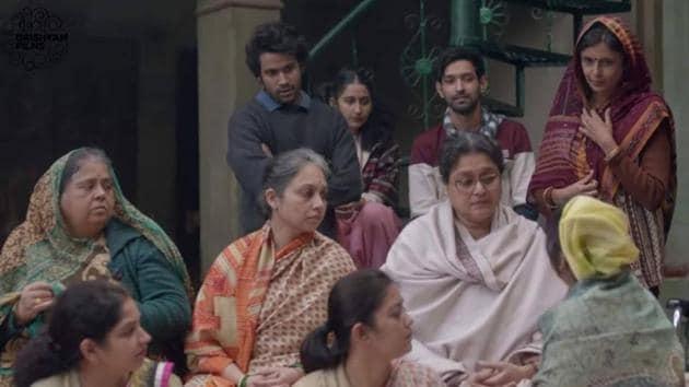 Ram Prasad Ki Tehrvi movie review: Supriya Pathak says a lot simply with her expression in the movie.