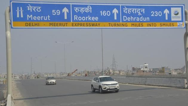 NHAI has been mandated the task to develop, maintain and manage national highways, the arterial roads of the country, for inter-state movement of passengers and goods.(Sakib Ali /Hindustan Times file photo)