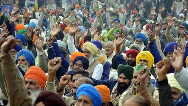 Image result for farmers protest and rahul gandhi