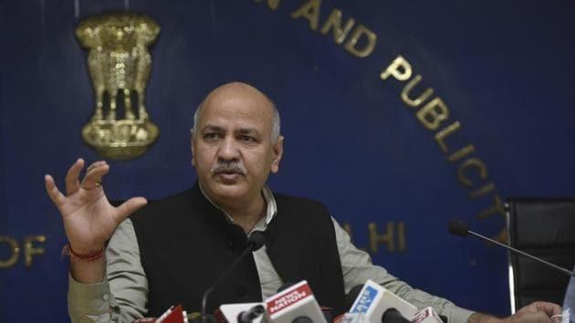File photo: Deputy chief minister of Delhi Manish Sisodia.(Vipin Kumar/HT PHOTO)