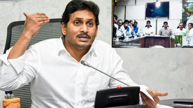 Andhra Pradesh chief minister YS Jagan Mohan Reddy is under fire over continued incidents of desecration of Hindu gods.(PTI)