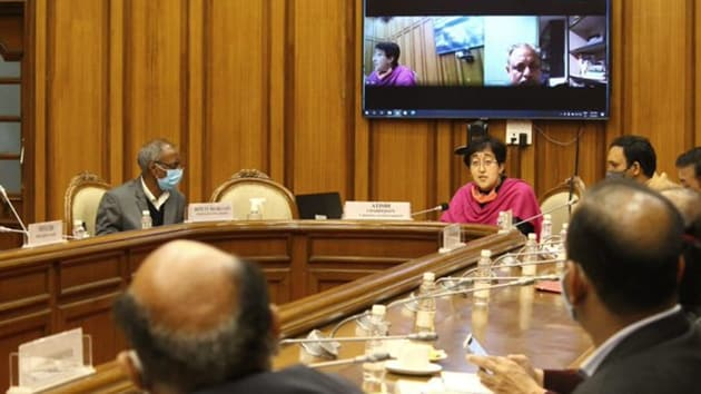"""Kalkaji MLA Atishi who heads the House Panel said that it was """"very shocking"""" that the MCD commissioners of Delhi have no clue regarding the length of roads under their jurisdiction.(ANI)"""