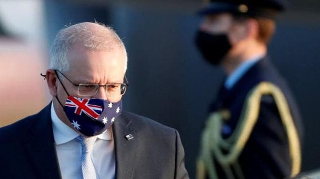 The battle for influence in the Pacific Islands comes after Prime Minister Scott Morrison's decision to seek an independent investigation into the origins of the coronavirus(REUTERS)