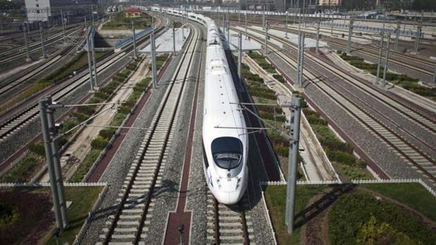 The train, built by Hyundai Rotem Co, only produces some 70% of the emissions produced by diesel-powered trains, which generated 235,000 tonnes of emissions in 2019, according to state-run Korail Railroad Corp.(AP representative image)