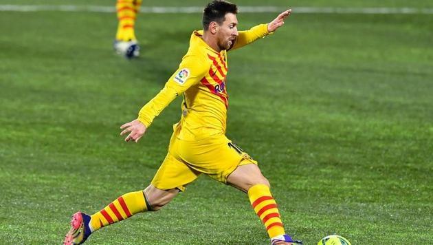 Barcelona's Argentinian forward Lionel Messi.(AFP)