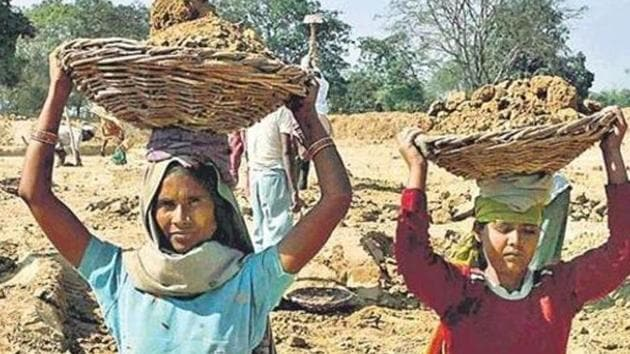 Nearly Rs 7 lakh was collected for beneficiaries of rural employment schemes under the Mahatma Gandhi National Rural Employment Guarantee Act 2005 (MNREGA) and part of the money was sent to people in Bangladesh, officials said. (Image used for representation).(HT PHOTO.)