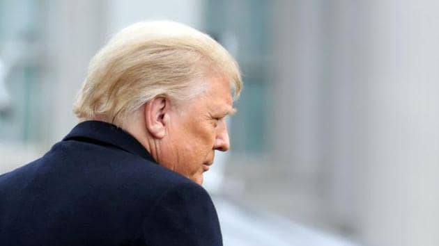 US President Donald Trump was recorded on call by Georgia's secretary of state, Brad Raffensperger, a fellow Republican, putting pressure on the state secretary and his legal counsel to overturn Joe Biden's victory in the state.(REUTERS)