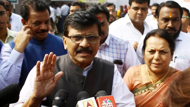 Shiv Sena MP Sanjay Raut.(HT)