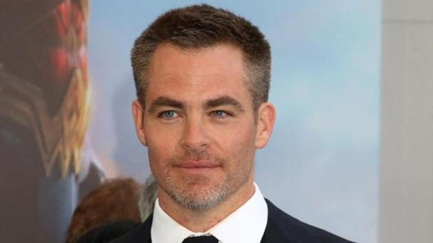 Actor Chris Pine stars in Wonder Woman 1984
