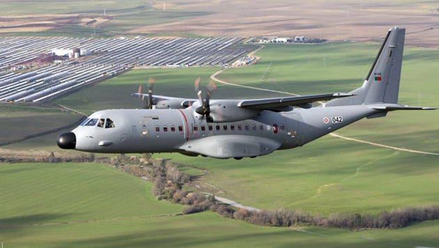 The C-295 is said to be a highly versatile tactical airlifter.(airbus.com/defence/)