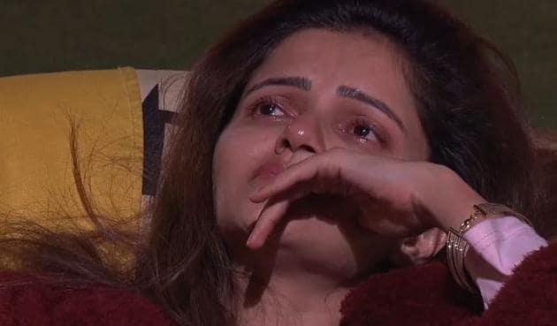 Bigg Boss 14: Rubina Dilaik breaks down after an argument with Abhinav Shukla.