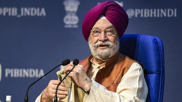 After Supreme Court cleared the Central Vista redevelopment project, Union minister Hardeep Singh tweeted that the central government has always been sensitive to environmental concerns.(PTI File Photo)