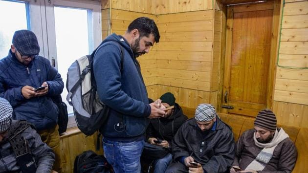 Bandwidth restrictions in Kashmir -- where the government in 2019 revoked the special autonomous status of the country's only Muslim majority state -- affected access for medicines, businesses and schools despite the easing of a seven-months-long closure in March, it said.(PTI (Representative Image))