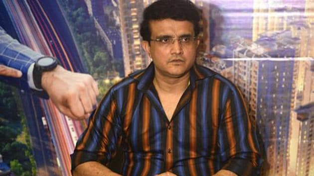 File photo of former Indian captain and current BCCI President Sourav Ganguly(Getty Images)