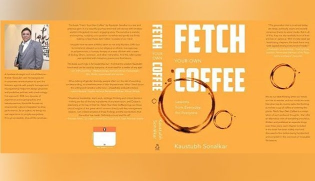 Kaustubh Sonalkar's maiden book 'Fetch Your Own Coffee' is now listed as national best-seller with its publisher Penguin, noted for its top selling status.(ANI)