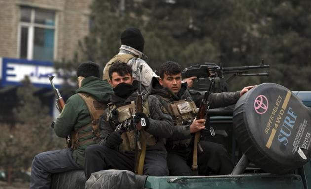 Afghan security personnel had smashed a Chinese spy ring in a security operation that led to the detention of 10 Chinese nationals and seizure of arms and explosive(AP)