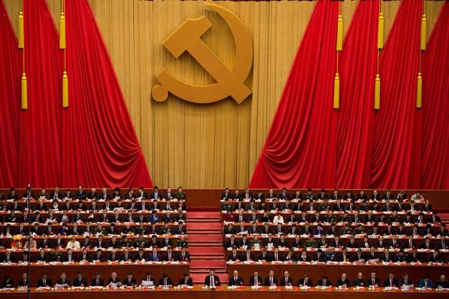 """The new rules also officially incorporate references to Xi Jinping's """"Thought on Socialism with Chinese Characteristics for a New Era"""", as the leader's ideology is officially known - a concept that has already been written into the constitution, reported SCMP.(AFP)"""