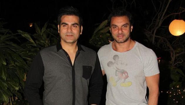 Arbaaz Khan and Sohail Khan(IANS)