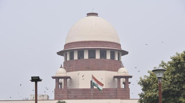 A view of Supreme Court.(Sonu Mehta/HT PHOTO)