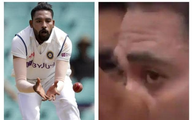 Mohammed Siraj teared up during National Anthem.(PTI/Screenshot)
