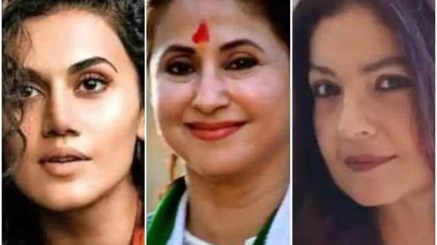 Taapsee Pannu, Urmila Matondkar, and Pooja Bhatt have slammed an NCW member for making insensitive comments.