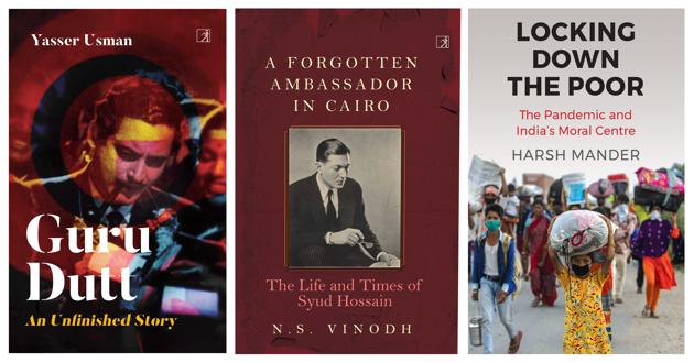 A book on the effect of India's lockdown, and volumes on two personalities - a forgotten freedom fighter, and an auteur of Hindi cinema -- are on this week's list of recommended reads.(HT Team)