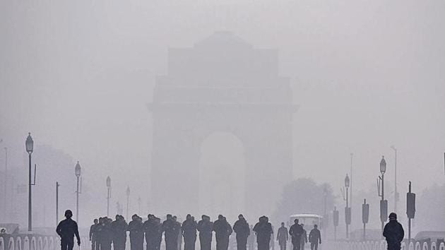 National Security Guard during Republic Day parade rehearsals on Wednesday.