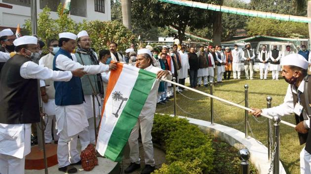 Bihar Congress president Madan Mohan Jha has been the Bihar unit president for nearly three years and may not get an extension, say party leaders.(HT Photo)