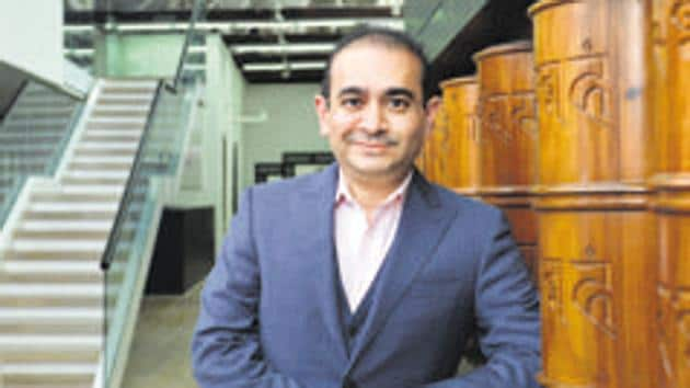 Nirav Modi, declareda fugitive economic offender by a Mumbai PMLA court in December 2019, is presently lodged in a London jail after his arrest there in 2019 and the legal process to extradite him to India on money laundering charges is currently on.(Aniruddha Chowdhury/Mint file photo)