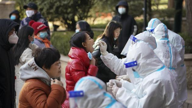On Thursday, there were 51 more cases reported in Hebei, the National Health Commission reported -- plus another 69 asymptomatic cases.(AP Photo)